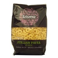 Biona Org White Wheat Macaroni 500g