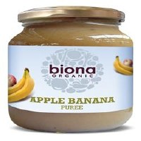 Biona Org Apple & Banana Puree 350g