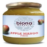 Biona Org Apple & Mango Puree 350g