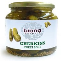Biona Org Gherkins 350g