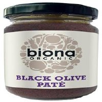 Biona Organic Black Olive Pate 120g
