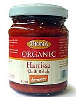 Biona Org Harrissa Chilli Relish 125g
