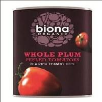 Biona Organic Peeled Tomatoes 400g