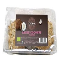 Biona Org Raisin & Coconut Cookies 240g