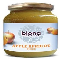 Biona Org Apple Apricot Puree 350g