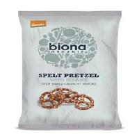 Biona Spelt Pretzels with Sesame 125g