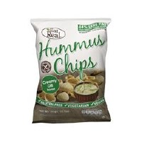 Eat Real  Eat Real Humus Chip Cream Dill 45g