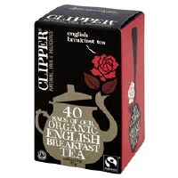 Clipper F/T Organic English Breakfast 40bag