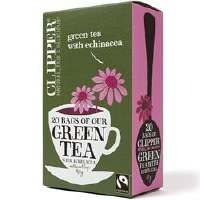Clipper Green Tea With Echinacea 6x20bags