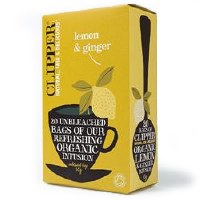 Clipper Organic Lemon & Ginger 20bag