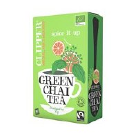 Clipper Fairtrade Organic Green Chai 20bag