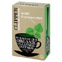 Clipper Organic Nettle & Peppermint 20bag