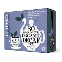 Clipper Org Decaf Everyday Assam Tea 80bag