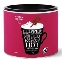 Clipper Fairtrade Inst Hot Chocolate 1000g
