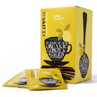 Clipper Org Lemon & Ginger Envelopes 25bag