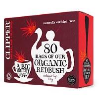 Clipper Organic Infusion Redbush 80bag