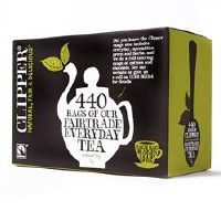 Clipper Fairtrade Everyday One Cup Tea 440bag