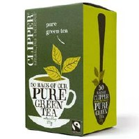 Clipper Fairtrade Pure Green Tea 50bag
