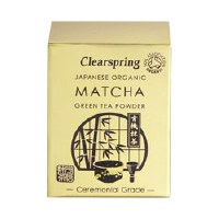 Clearspring Org Matcha Green tea (tin) 30g