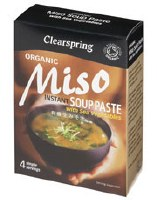 Clearspring Instant Miso Soup Paste + Veg 60g