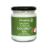 Clearspring OG Virgin Coconut Oil 200ml