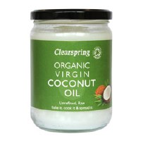 Clearspring OG Virgin Coconut Oil 1x400g