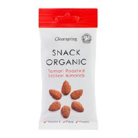 Clearspring Roasted Sicilian Almonds 30g