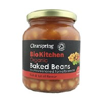 Clearspring Org Baked Beans (unsweetened) 350g