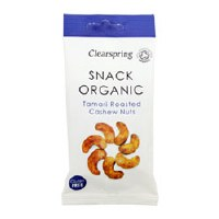 Clearspring Tamari roasted cashew nuts 30g