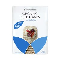 Clearspring Org Wholegrain Thin Rice Cakes 130g