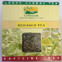 Cotswold Health Products Red Sage Tea 50g