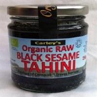 Carley's Org Raw Black Sesame Tahini 250g