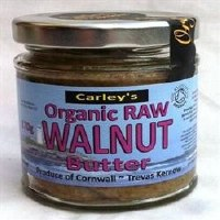 Carley's Org Raw Walnut Butter 170g