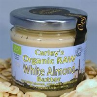 Carley's Org Raw White Almond Butter 170g