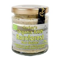 Carley's Org Raw Rainforest Nut Butter 170g