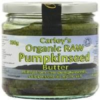 Carley's Org Raw Prem Pumpkin Butter 250g