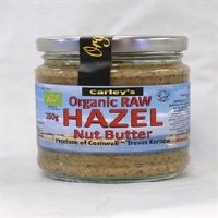 Carley's Organic Raw Hazelnut Butter 250g