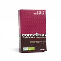 Conscious Chocolate Goji & Coconut 60g