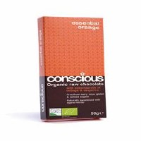 Conscious Chocolate Orange & Tangerine 60g