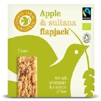 Doves Farm Apple & Sultana Flapjack Org 5x40g