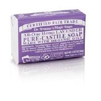 Dr Bronner Org Lavender Soap Bar 140g
