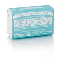 Dr Bronner Org A/V Baby Mild Soap Bar 140g