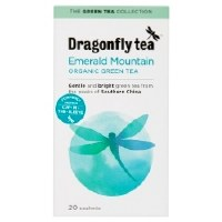 Dragonfly Tea Pure Green Mountain Green Tea 20 sachet