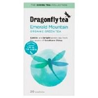 Dragonfly Tea Pure Green Mountain Green Tea 20 sachet