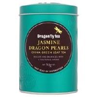 Dragonfly Tea Leaf Jasmine Pearls Green Tea 50g
