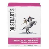 Dr Stuarts Triple Ginseng Plus Herbal Tea 15bag