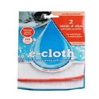 E-Cloth Wash & Wipe Cloths 2unit
