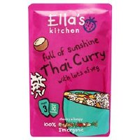 ELLA'S KITCHEN (VEGETARIAN) S3 Thai Curry 190g