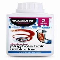 Ecozone Plughole Hair Unblocker 250ml