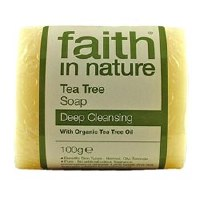 Faith in Nature Tea Tree Pure Veg Soap 100g